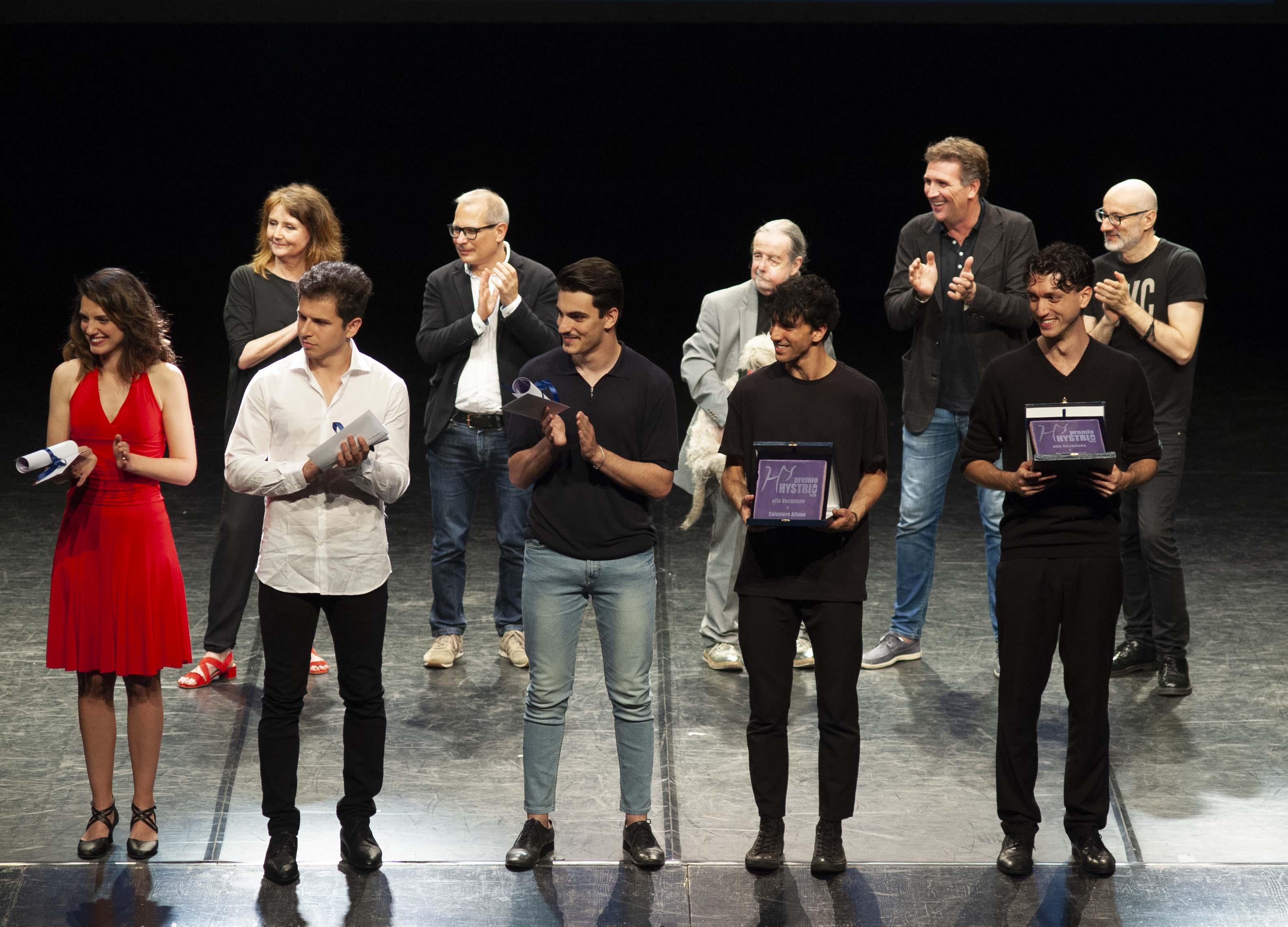 Premio Hystrio 2019 alla Vocazione_ph Gabriele Lopez
