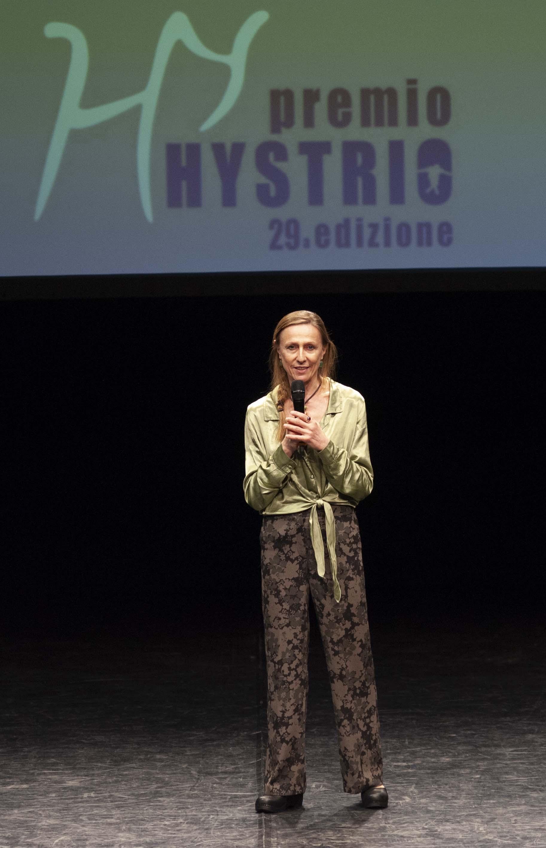 Premio Hystrio 2019 corpo a corpo_Simona Bertozzi_ph Gabriele Lopez