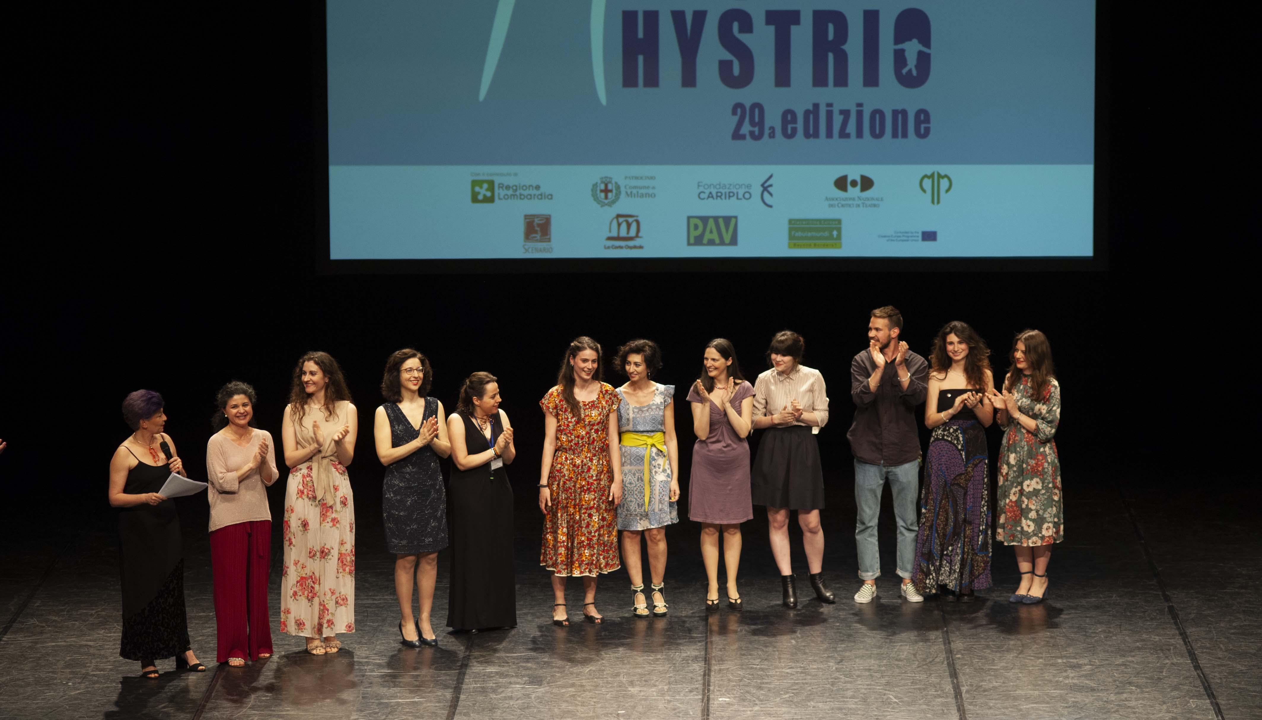 Premio Hystrio 2019 lo staff ph Gabriele Lopez