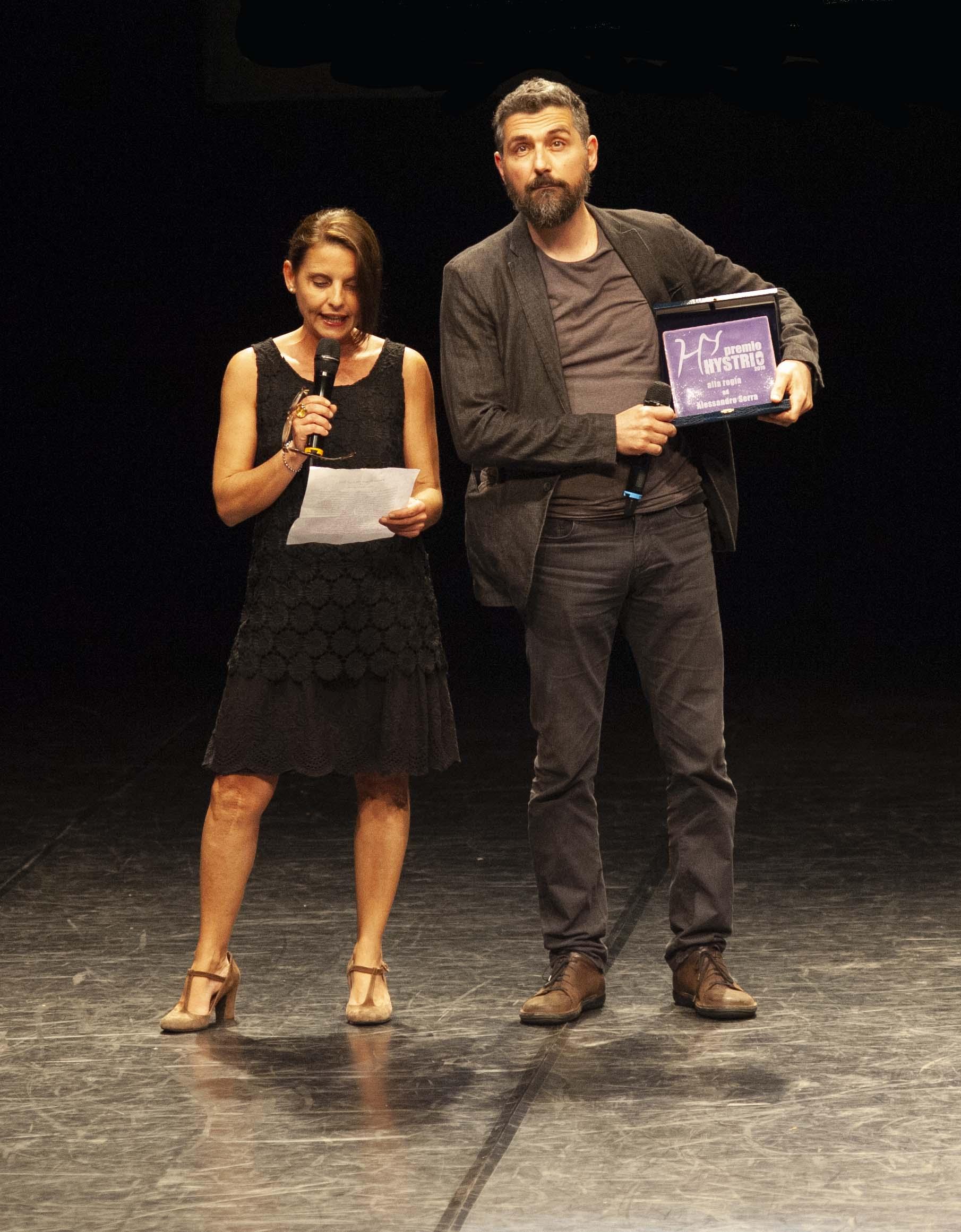 Premio Hystrio 2019_alla regia ad Alessandro Serra_foto Gabriele Lopez