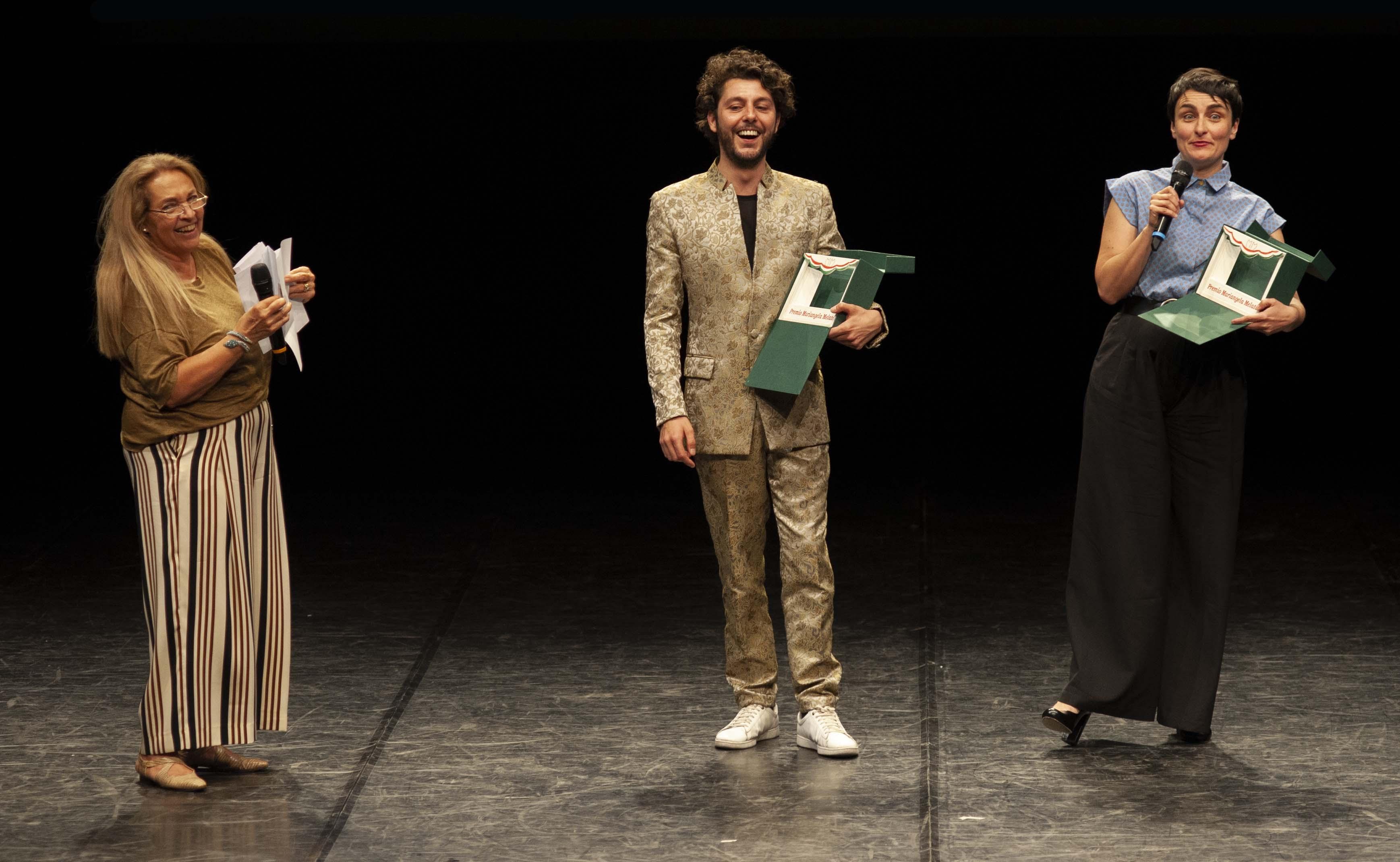 Premio Melato 2019 a Riccardo Buffonini-Marta Dalla Via_ph Gabriele Lopez