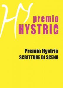 Clicca sull'immagine per leggere il Bando del Premio Hystrio Scritture di Scena 2019