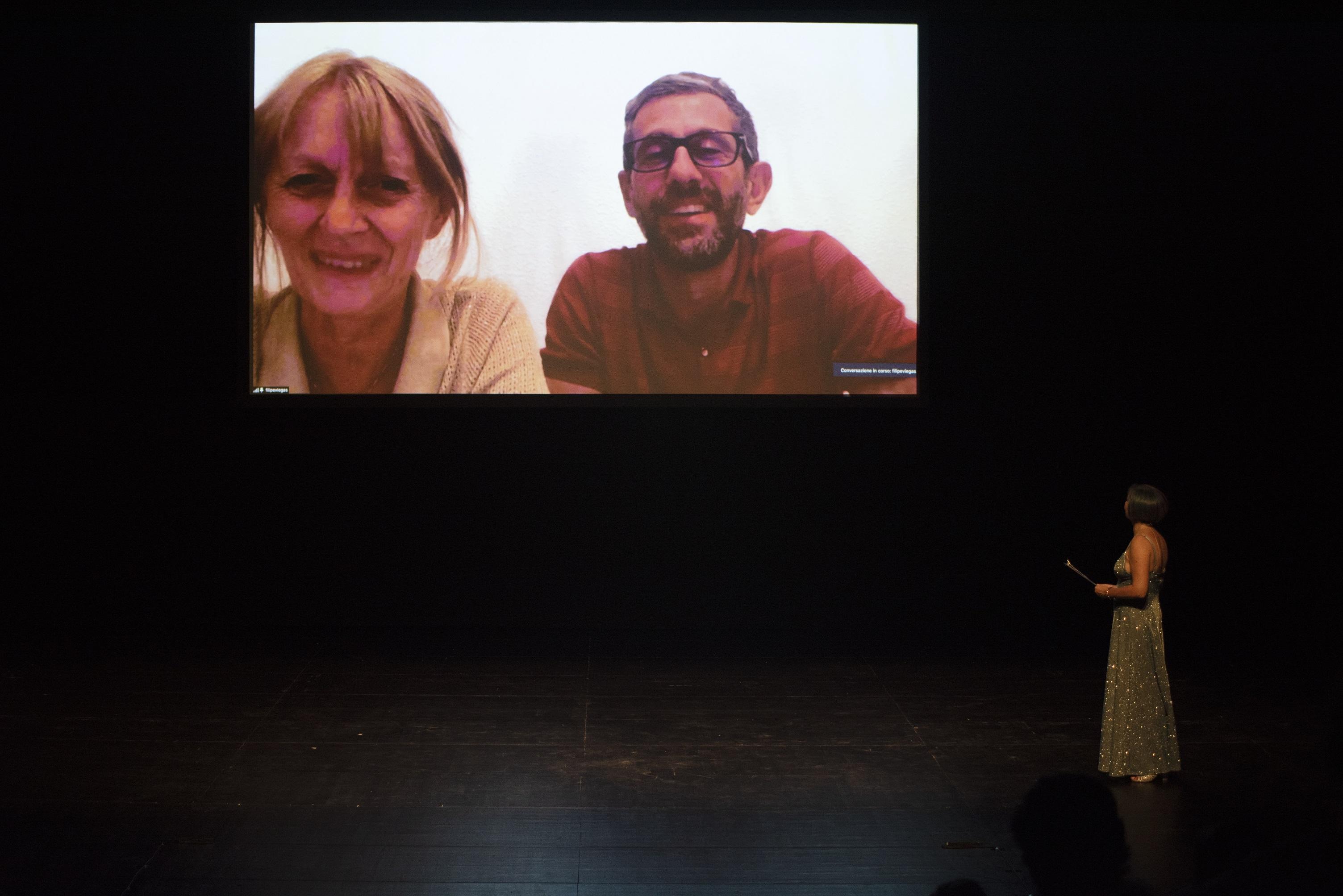 Premio Hystrio 2021 alla drammaturgia, Deflorian/Tagliarini (foto Gabriele Lopez)