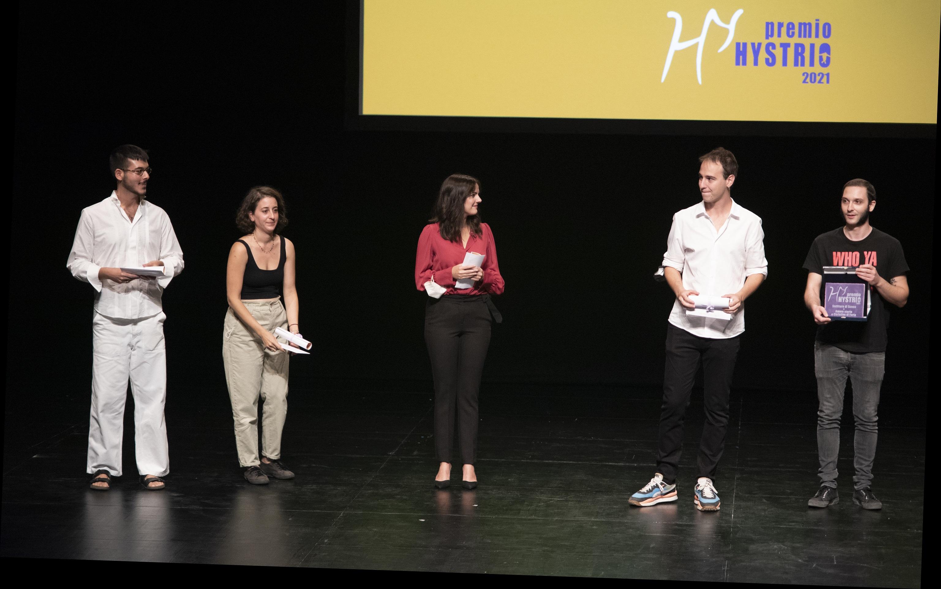 Premio Hystrio 2021, Scritture di Scena, i vincitori (foto Gabriele Lopez)